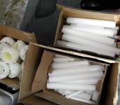 葬儀で使用したロウソクをアフガニスタンに贈る